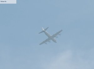 US Aircraft over Kingston Air Space